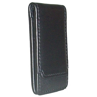 Boconi Collins Calf Magnetic Money Clip; Black
