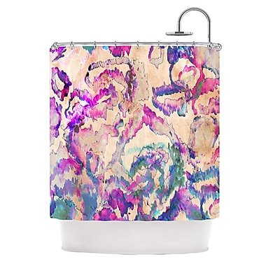 KESS InHouse Weirdi Kat Shower Curtain