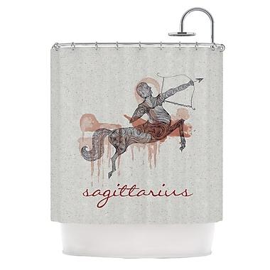 KESS InHouse Sagittarius Shower Curtain