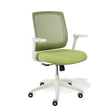 Jesper Office White Camilla Mesh Office Chair; Green