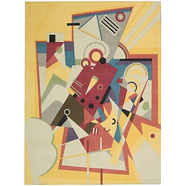 Nourison Modern Arts Goldrod Rug; 4' x 6'