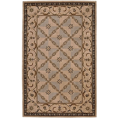 Nourison Versailles Palace Brown/Tan Area Rug; 8' x 11'