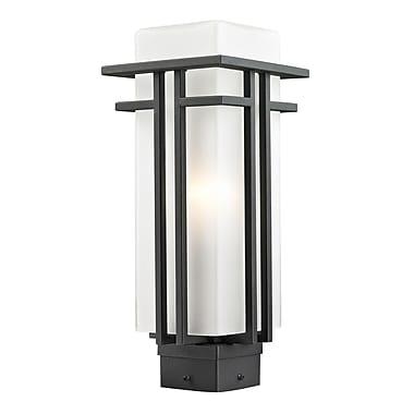Z-Lite Abbey Outdoor 1 Light Lantern Head; 15.75'' H x 6.5'' D