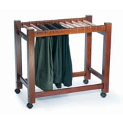 Woodlore Pant Trolley 26.75'' H x 29'' W x 17'' D Garment Rack