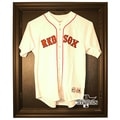 Caseworks International 2013 Red Sox World Series Champs Cabinet Style Jersey Display; Black