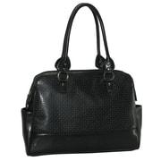 Buxton Femme Floral Comp Tote Bag; Black