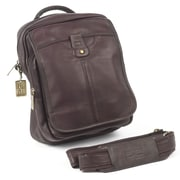 Claire Chase Classic Messenger Bag; Cafe