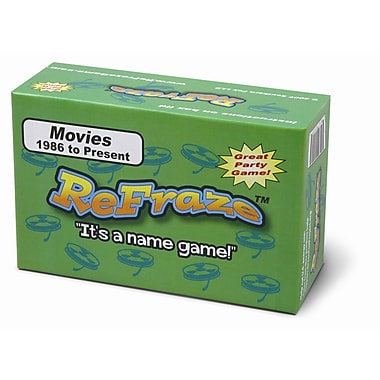 Talicor Re-Fraze Game Movie Edition 1986 to Present