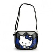 Loungefly Hello Kitty Chevron Cross Body Bag