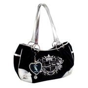 Little Earth MLB Sport Luxe Fan Hobo Bag; Chicago White Sox