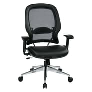 Office Star Space 23'' Professional Air Grid Chair with Eco Leather Seat