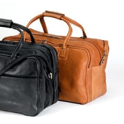 Andrew Philips 24'' Vaqueta Napa Leather Duffel; Tan