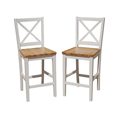 TMS Virginia 24'' Bar Stool (Set of 2)