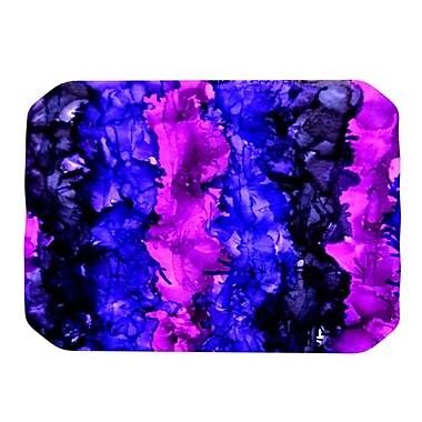 KESS InHouse Drop Placemat; Purple