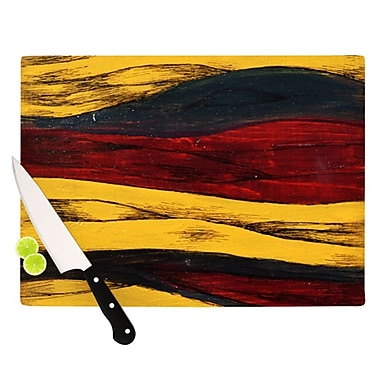 KESS InHouse Sheets Cutting Board; 11.5'' H x 8.25'' W x 0.25'' D