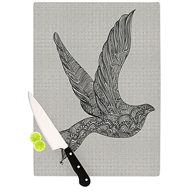 KESS InHouse Dove Cutting Board; 11.5'' H x 15.75'' W x 0.15'' D