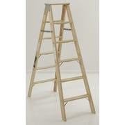 Michigan Ladder 4.13 ft Wood Step Ladder w/ 300 lb. Load Capacity