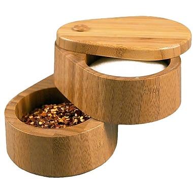 Totally Bamboo 3.75'' Double Salt Box