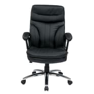 Office Star High Back Executive Chair with Padded Arms