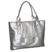 Buxton Sapphire Comp Tote Bag; Silver