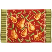 Homefires Provence Pears Rug; 22'' x 34''