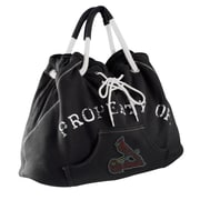 Little Earth MLB Sport Noir Hoodie Tote Bag; Detroit Tigers