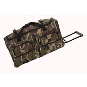 Rockland 30'' 2-Wheeled Travel Duffel; Camouflage