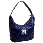 Little Earth MLB Quilted Hobo Bag; New York Yankees