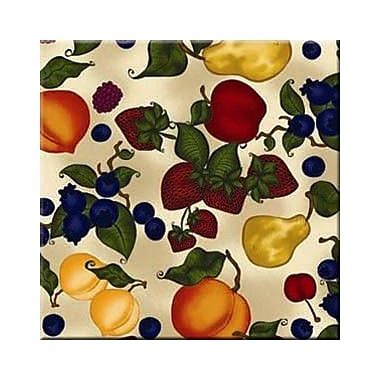 McGowan Tuftop Fruit Collage Trivet