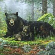McGowan Tuftop Black Bears Trivet