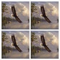 McGowan Tuftop Eagle Coasters (Set of 4)