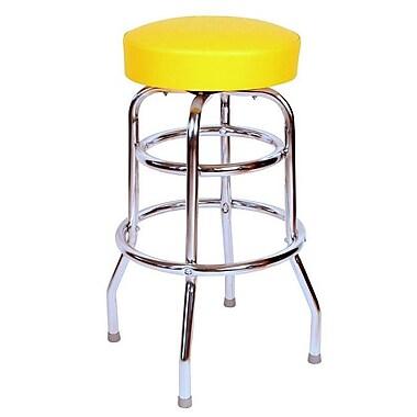 Richardson Seating Retro Home 30'' Swivel Bar Stool ; Yellow
