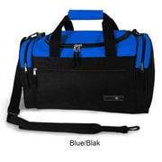 J World Copper 21'' Travel Duffel with Shoulder Strap; Blue/Black