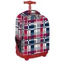 J World Sunshine Double Pocket Rolling Backpack; Star