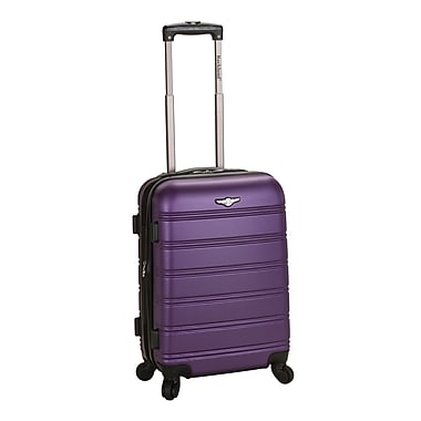 Rockland Melbourne 20'' Expandable Carry-On; Purple