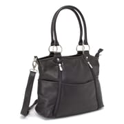 Le Donne Leather Nevington Convertible Tote Bag; Black