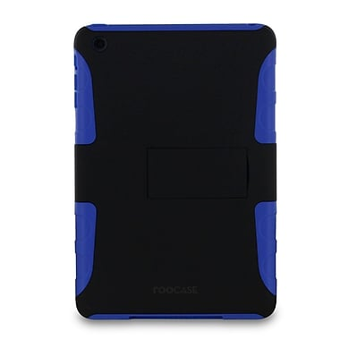 rooCASE eXTREME Hybrid Shell Case Cover for iPad Mini; Dark Blue