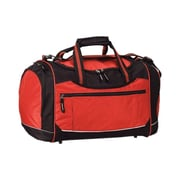 Preferred Nation Travelwell 20'' Gym Duffel with Cooler; Red