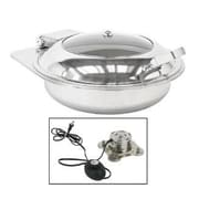 Buffet Enhancements Electric New Age Drop-In Round Chafing Dish