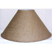 Lamp Factory 23'' Linen Empire Lamp Shade; Off-White Linen