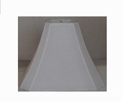 Lamp Factory 17'' Shantung Silk Square Lamp Shade WYF078275620271