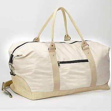 Preferred Nation 21'' Eco Travel Duffel Bag; Natural