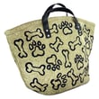 Park B Smith Ltd PB Paws & Co. Large Puppy Paws Tapestry Tote Bag