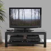 Plateau SL Series TV Stand; Black