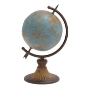 Woodland Imports Antique Metal Globe