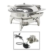 Buffet Enhancements Electric New Age Round Chafing Dish