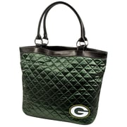 Little Earth NFL Quilted Tote Bag; Green Bay Packers