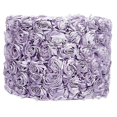 Jubilee Collection 12'' Drum Lamp Shade; Lavender