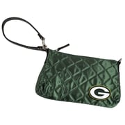 Little Earth NFL Quilted Wristlet Bag; Green Bay Packers