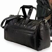 U.S. Traveler Koskin Leather 2-in-1 Carry-On Garment Bag